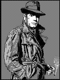 """Humphrey Bogart"" by Jose A. Casarrubios, 14 место на PAP'89"