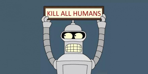 kill all humans all power to the robots