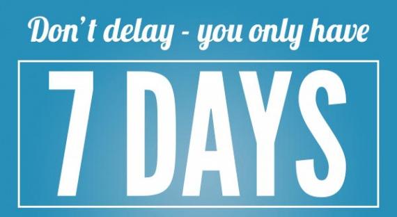 Всего 7 дней!!!