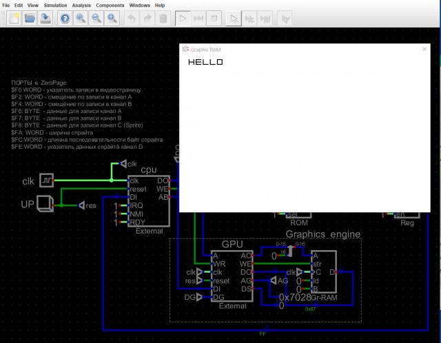 Работа с Verilog модулями в симуляторе Digital на чатсоте 3KHz